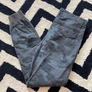 Aeropostale camouflage jogger cargo pants